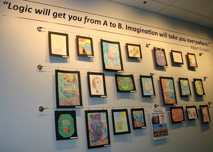 Young Artists Wall